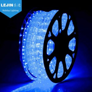 100m blue rope light